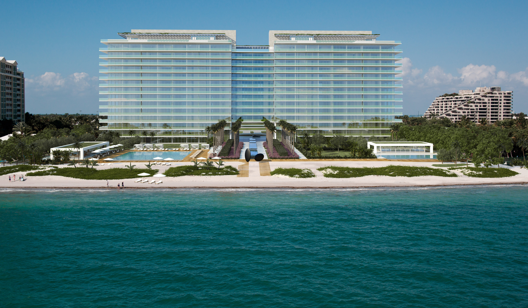 Oceana-Key-Biscayne-Beachfront-view