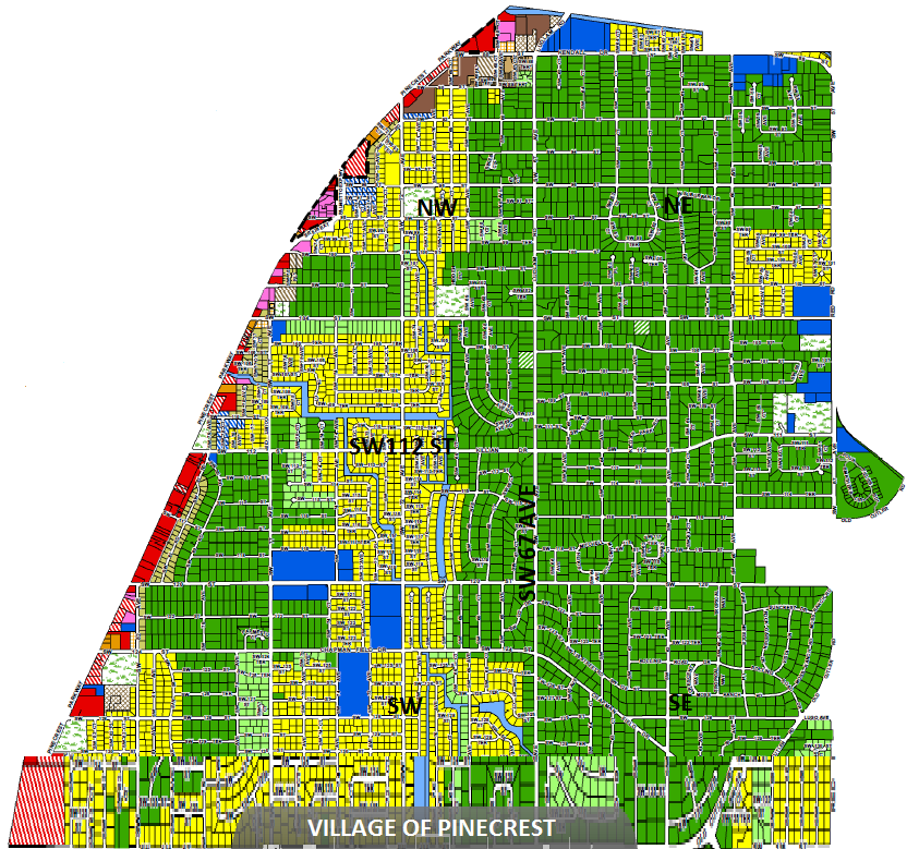 Village of Pinecrest Map